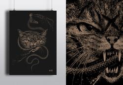 """Cat vs Wild"" Gold Serie"