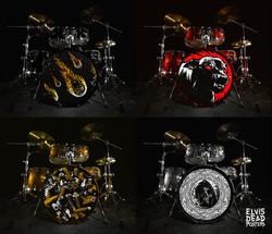 Bass Drum Stickers