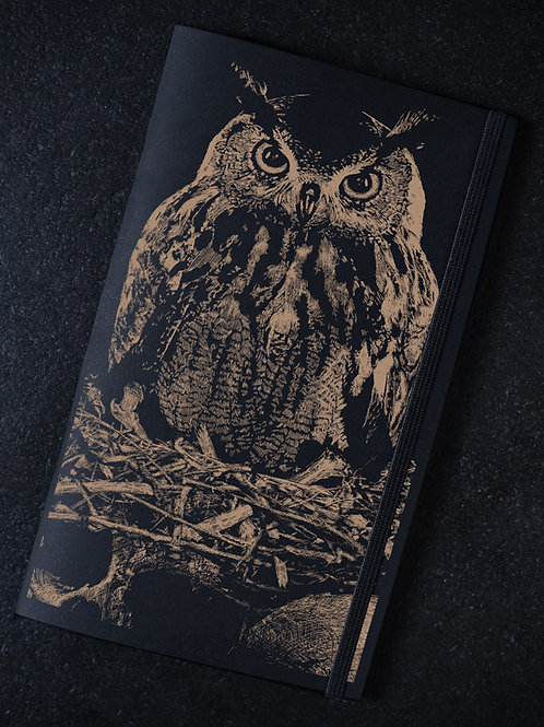 """Owl Of Death"" Notebook"