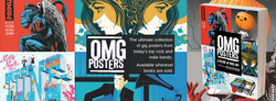 Elvisdead and the OMG posters book