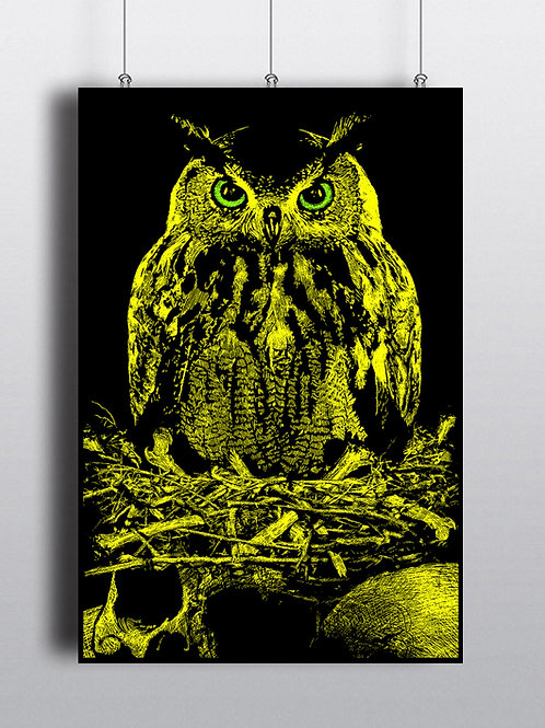 Owl of Death (yellow variant)