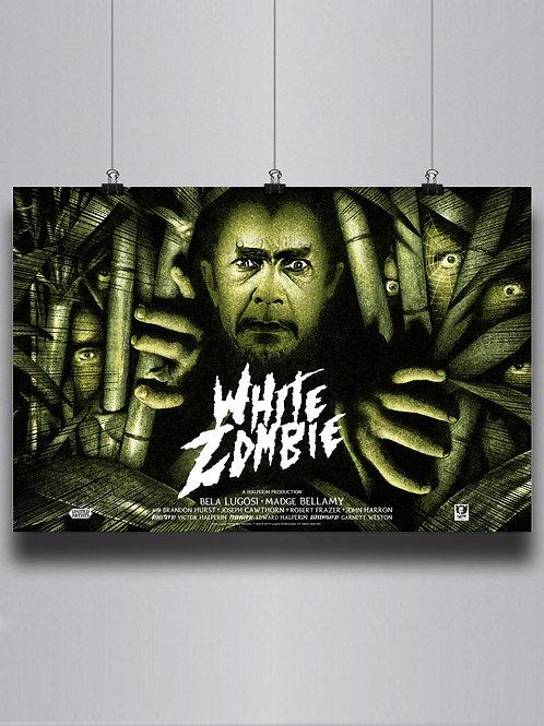 White Zombie (Mondo poster)