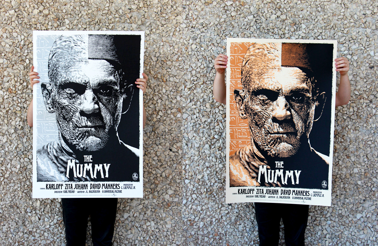 "Mondo release ""The Mummy"""