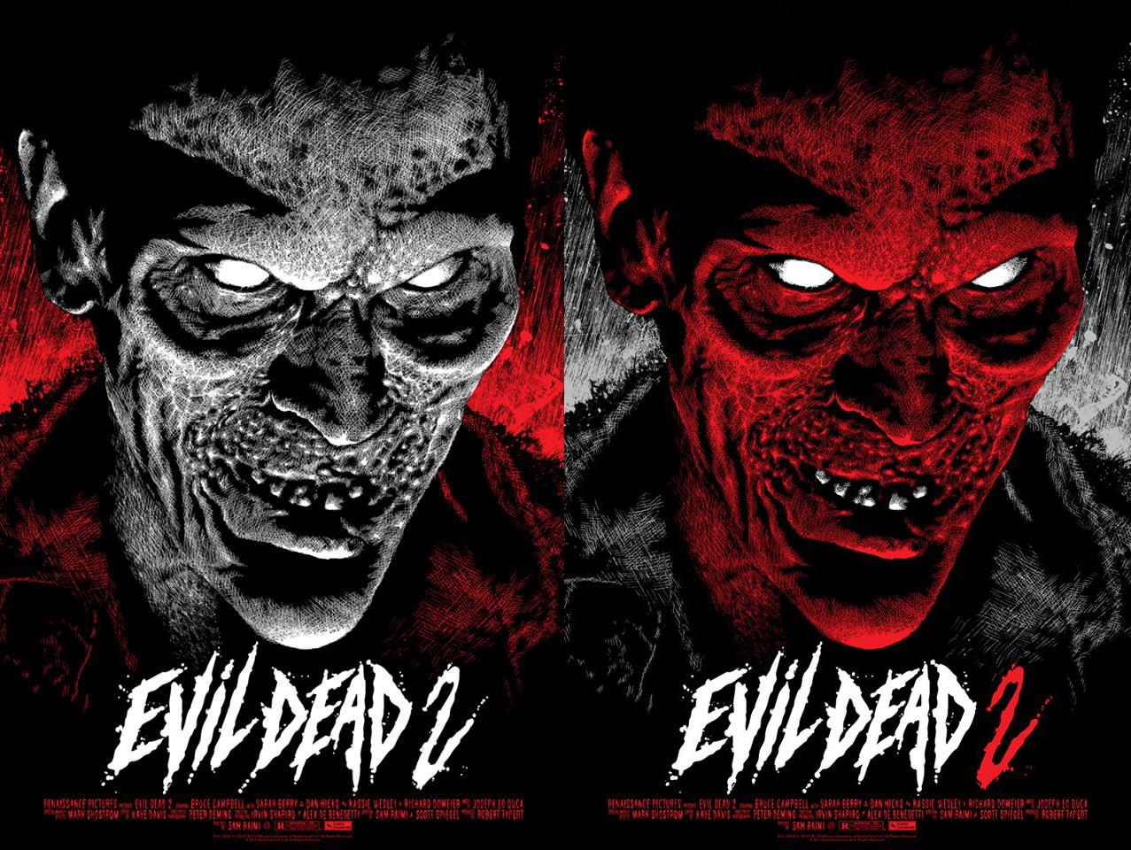 """Mondo release """"Evil Dead 2"""""""