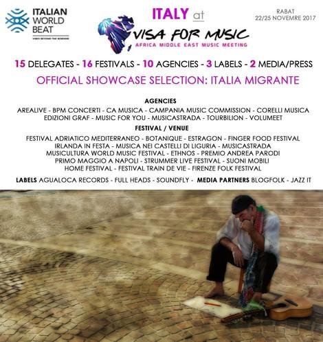 Novembre 2017: la musica di Ugo Gangheri & Nomadia a Rabat