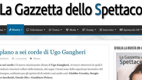 Un biplano a sei corde è il nuovo emozionante album di Ugo Gangheri