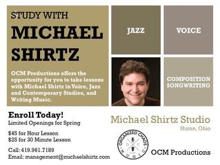 Michael Shirtz Offering Lessons