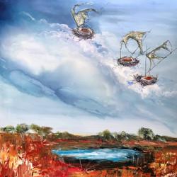 Waterhole Dreaming $1280