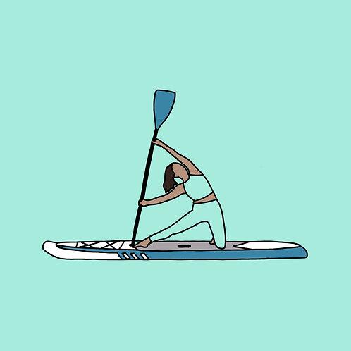 SUP Yoga E-Gift Card: One class