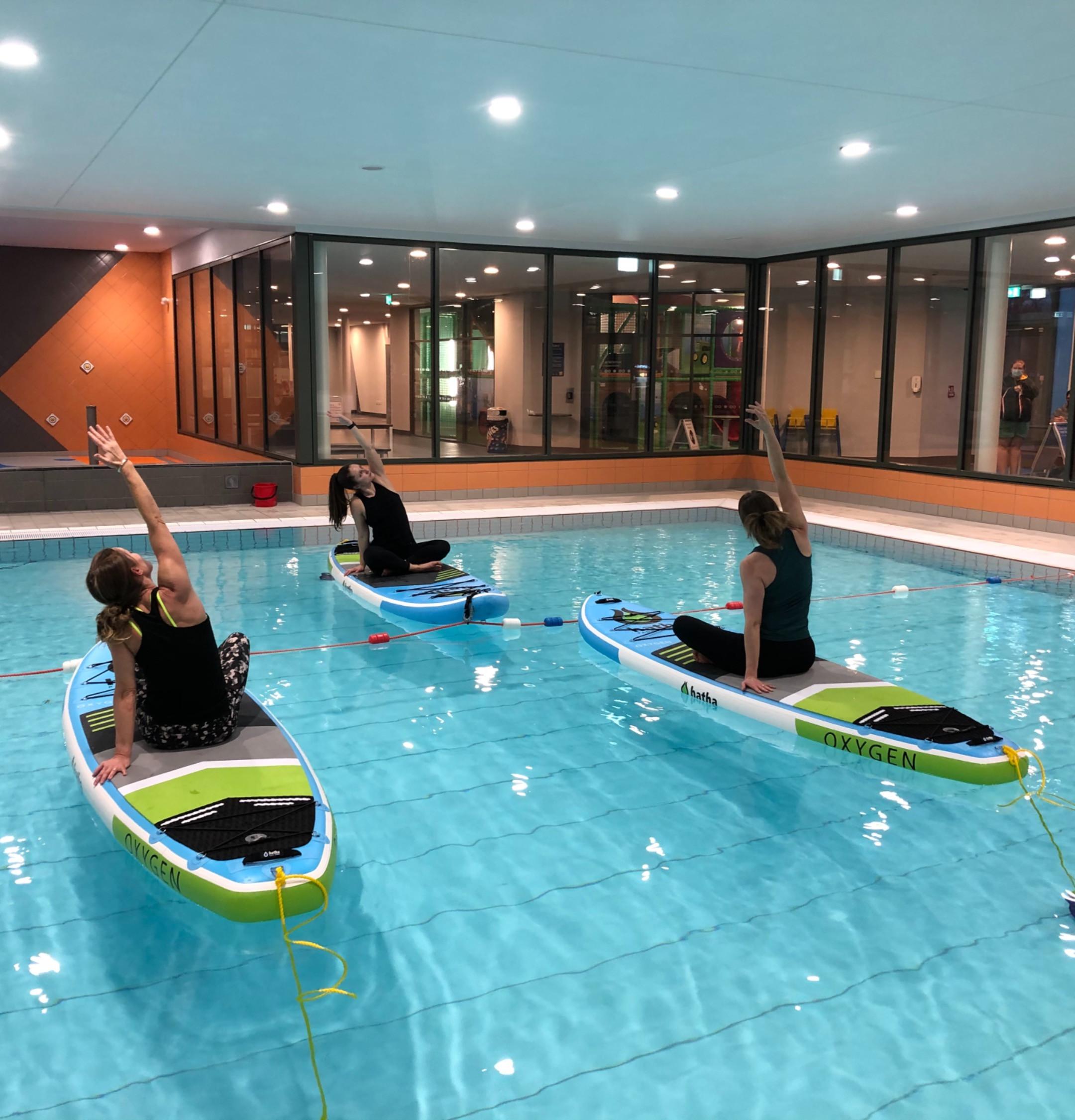 Indoor SUP Yoga