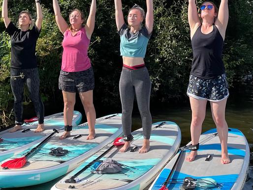 Benefits of SUP Yoga