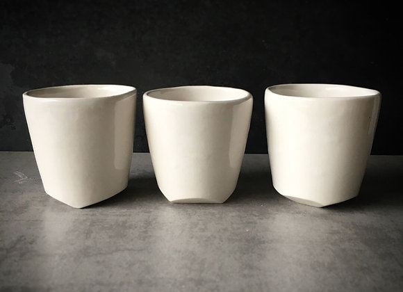 Geometric tumbler - set of 3