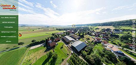 360 Grad Panoramatour Obstbau Wedemeier