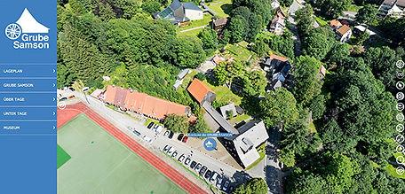360 Grad Panoramatour Grube Samson