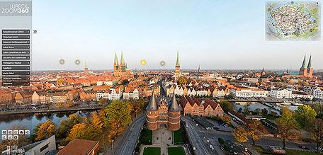 360 Grad Panoramatour LÜBECK