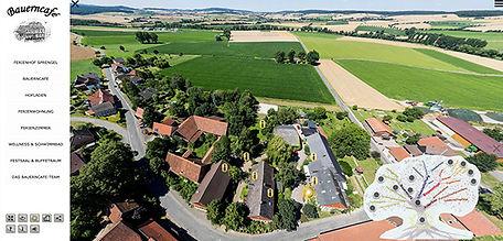 360 Grad Panoramatour Bauerncafé Sprengel