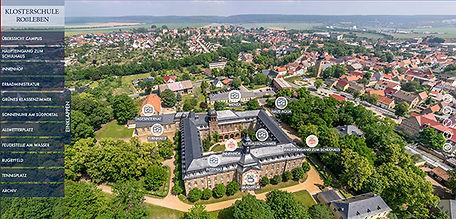 360 Grad Panoramatour Klosterschule Roßleben