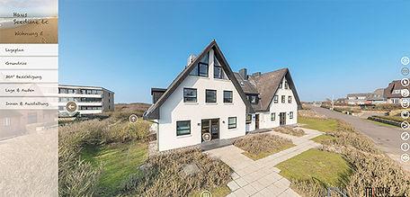 360 Grad Panoramatour Ferienwohnung Wenningstedt/Sylt