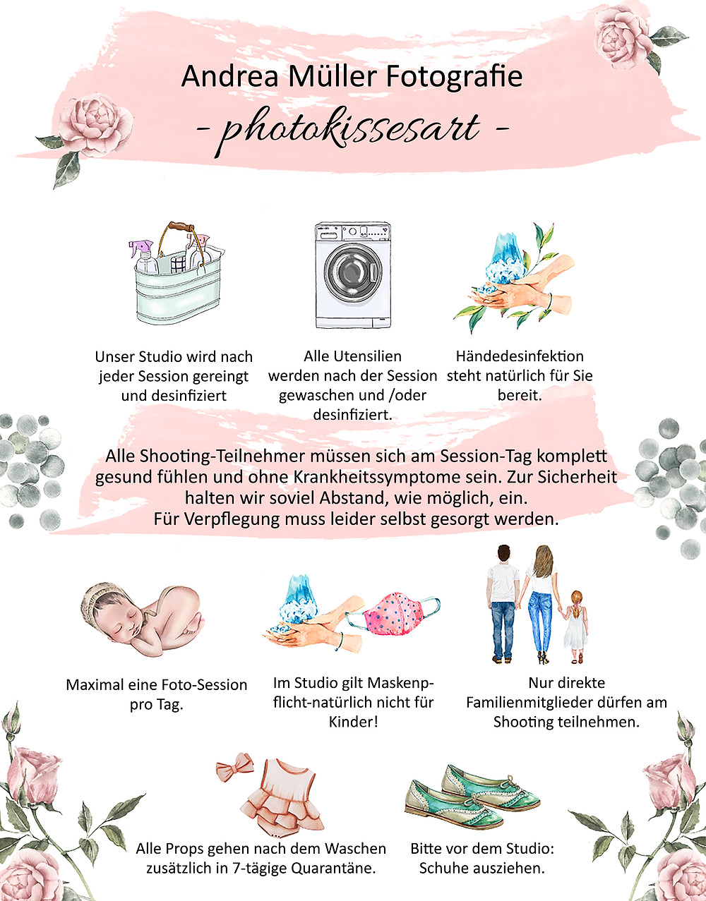 Hygienplan Fotostudio photokissesart