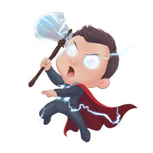 """Thor """"Puny God"""" of Thunder"""