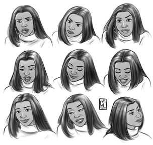 woman expressions