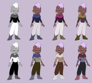 """Kai"" outfit color"