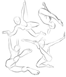 action pose study