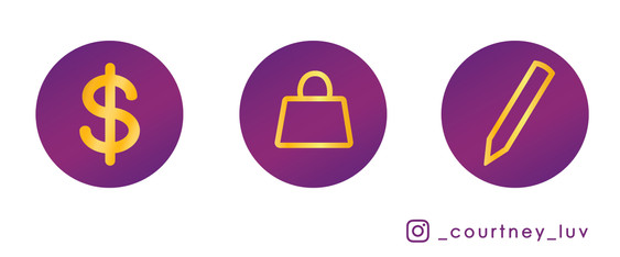 Instagram Highlight Icons