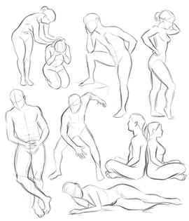 pose study