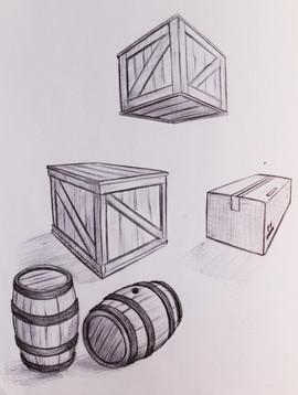 crates & barrels
