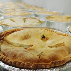 Savoury pies