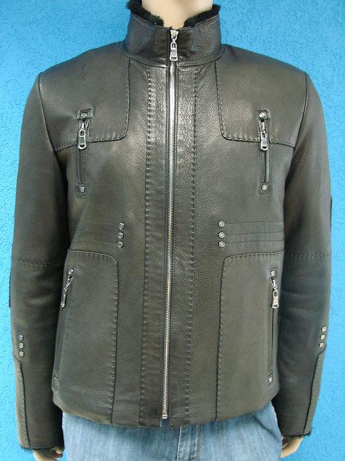 "Куртка мужская кожаная на меху ""Carmeliani"" 53400"