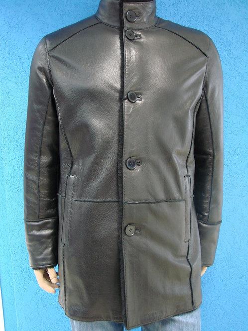 """Куртка мужская кожаная на меху """"Braganza"""" DK-131"""