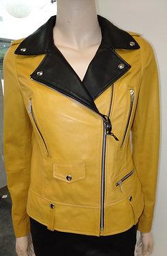 """Куртка женская кожаная """"Besikler"""" 1503h"""