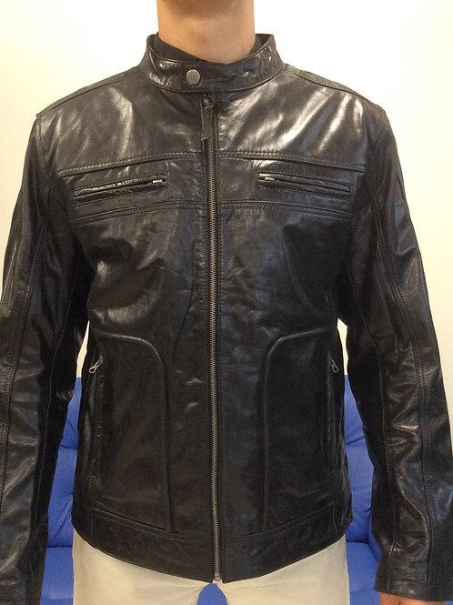 """Куртка мужская кожаная """"Nickelson"""" 82498"""
