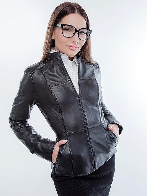 "Куртка женская кожаная ""Boelli"" 201"