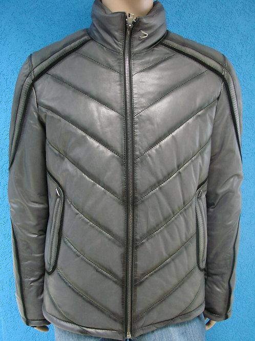 """Куртка мужская кожаная (утепленная) """"Bertotto"""" 2123"""