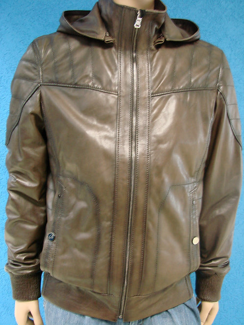 "Куртка мужская кожаная ""Braganza"" DZ-270"
