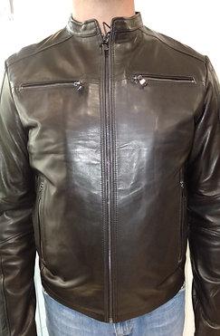 "Куртка мужская кожаная ""Leroy"" 9151"