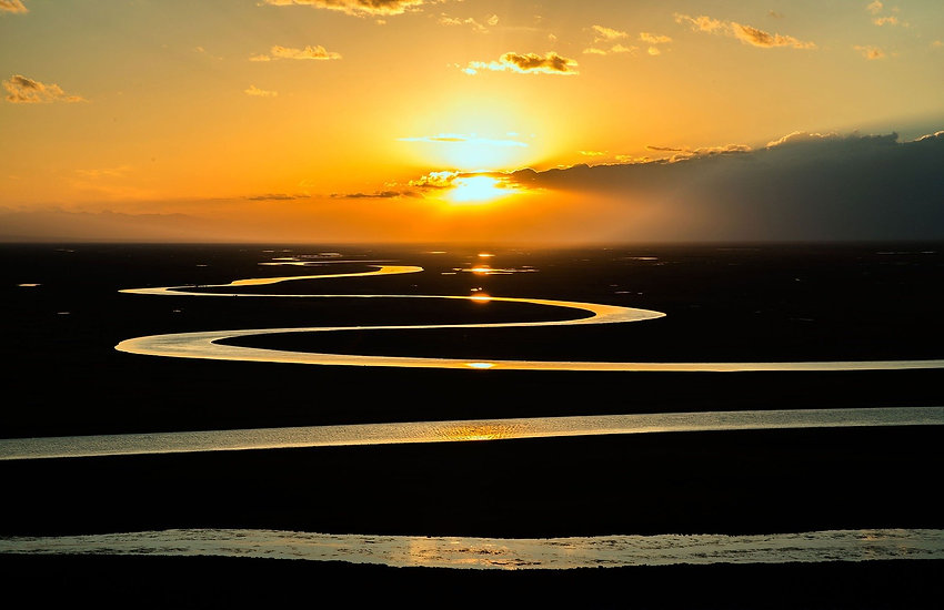 chemin lever de soleil vers l'infini pra