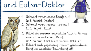 Pinguin - Polizist und Eulen - Doktor