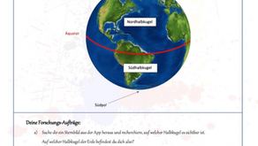 Nordhalbkugel oder Südhalbkugel?