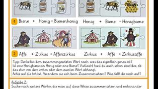 Wir experimentieren mit Wörtern - Teil 2 - Kinderuni Saar