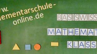 Mathematik Wissen für die Grundschule - 1. Klasse