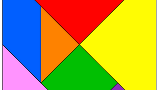 Tangram - ein altes chinesisches Spiel