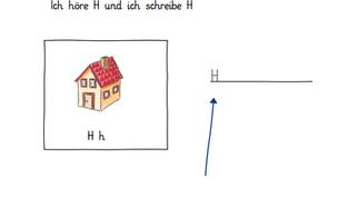 """Wie schreibe ich das Wort """"Haus"""" mit Hilfe der Anlauttabelle - ein Lernvideo für"""