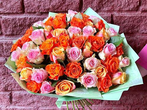 51 кенийская роза-микс в оформлении