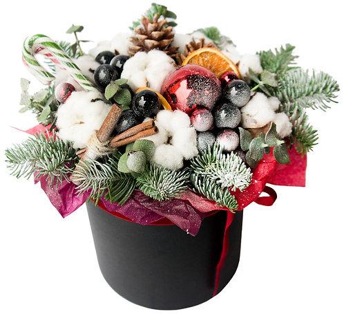 Малая рождественская шляпная коробка