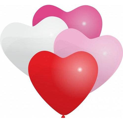 Гелиевый шар-сердце диаметром 30 см