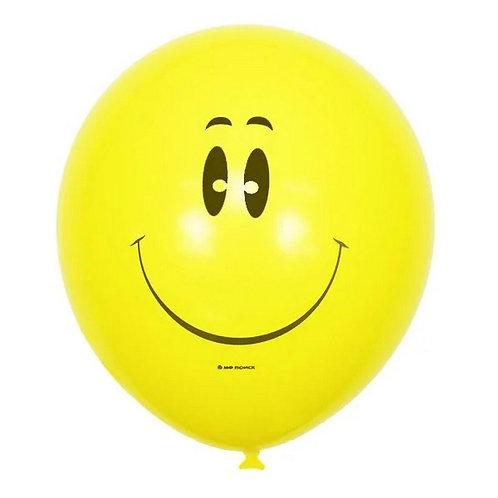 """Гелиевый шар """"Смайл"""" диаметром 30 см"""